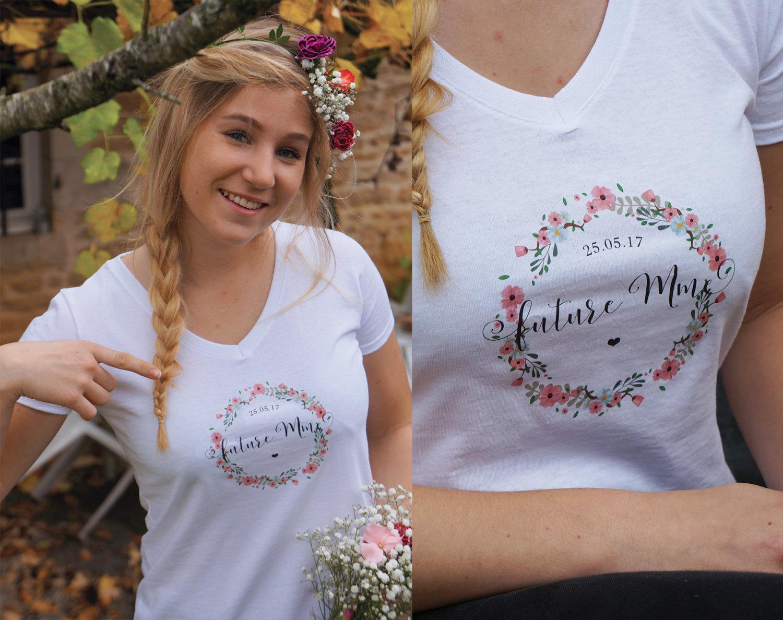tee-shirt futur madame